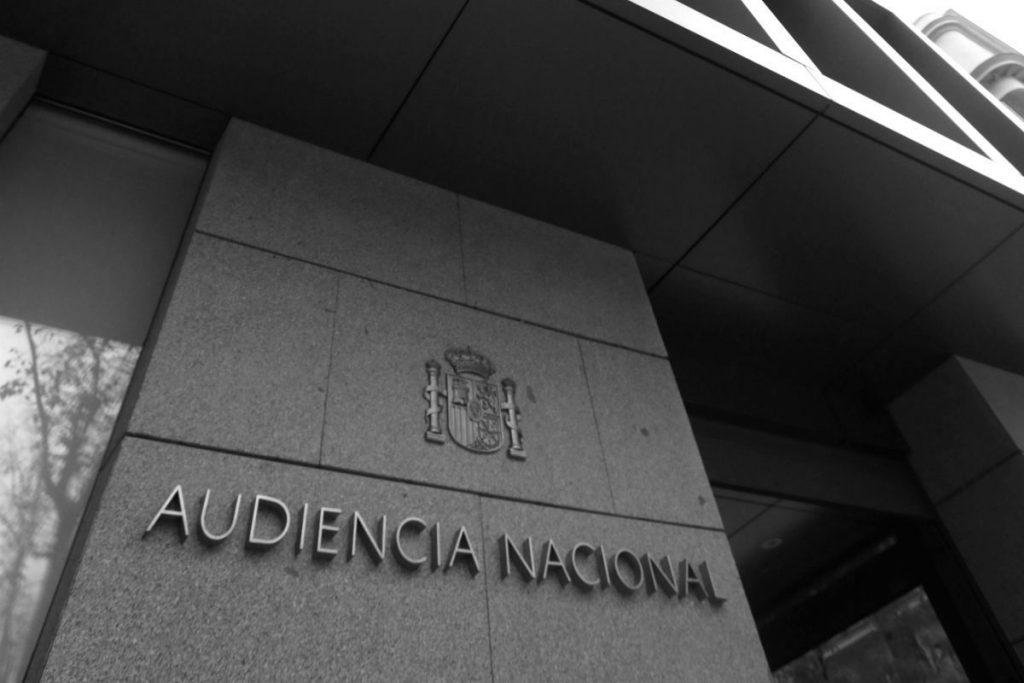 Tráfico de Drogas, Audiencia Nacional